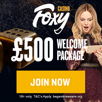 Foxy Sign Up Bonus