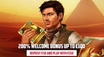 100 € FREE WITH 200% BONUS IN ENERGY CASINO