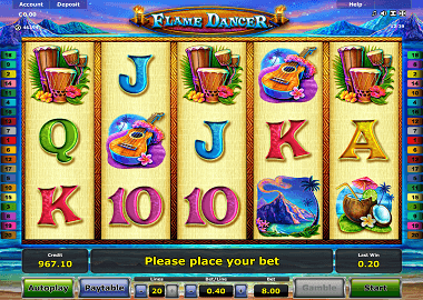 Flame Dancer Online Slot