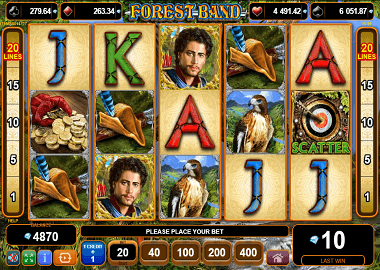 Forest Band Online Slot