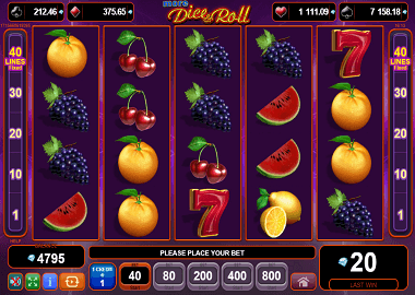 Dice & Roll Online Slot
