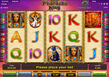 Pharaohs Ring Online Slot