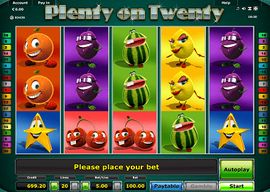 Twenty on Plenty Online Slot