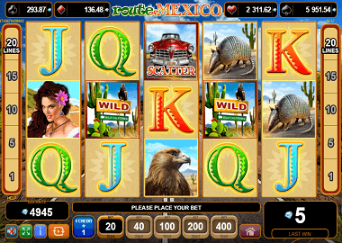 Route of Mexico Online Slot