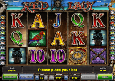 Red Lady Online Slot