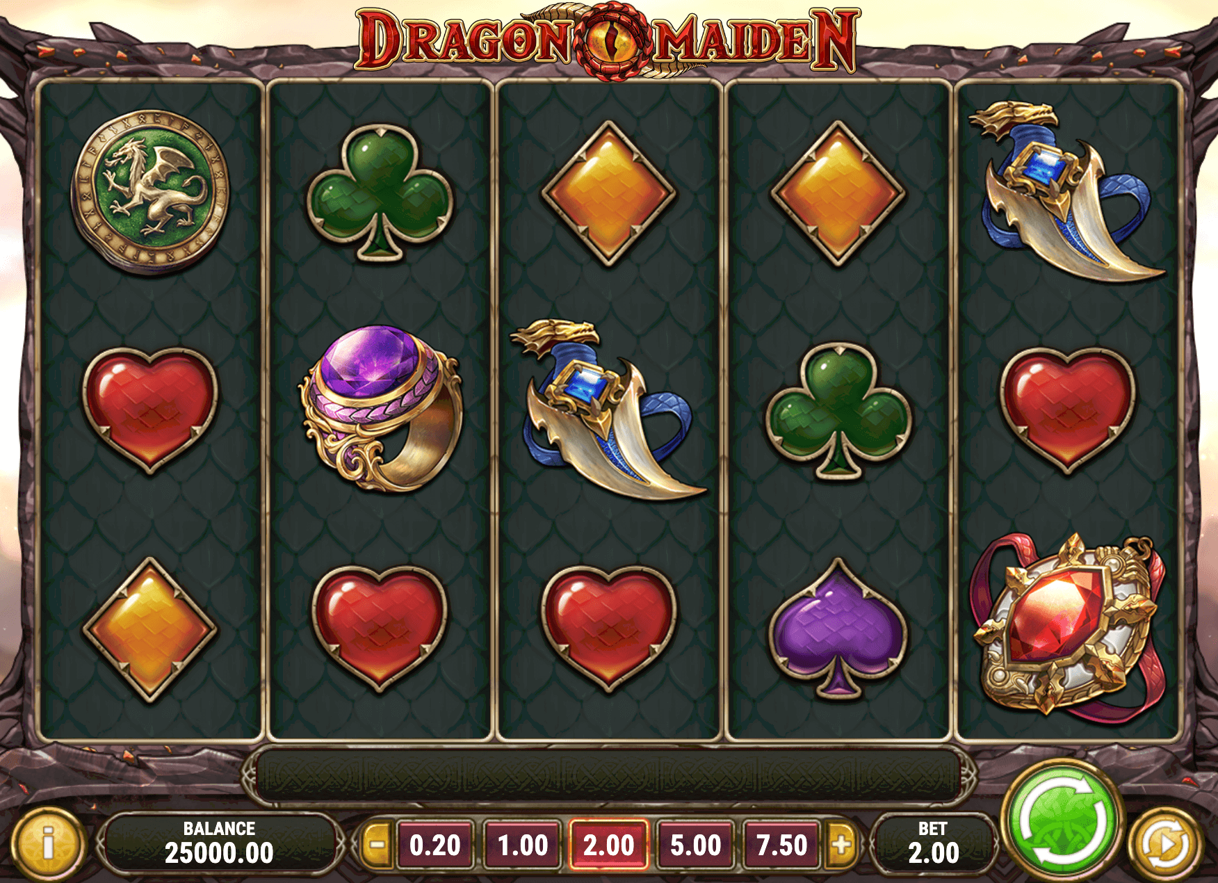 Dragon Maiden Online Slot