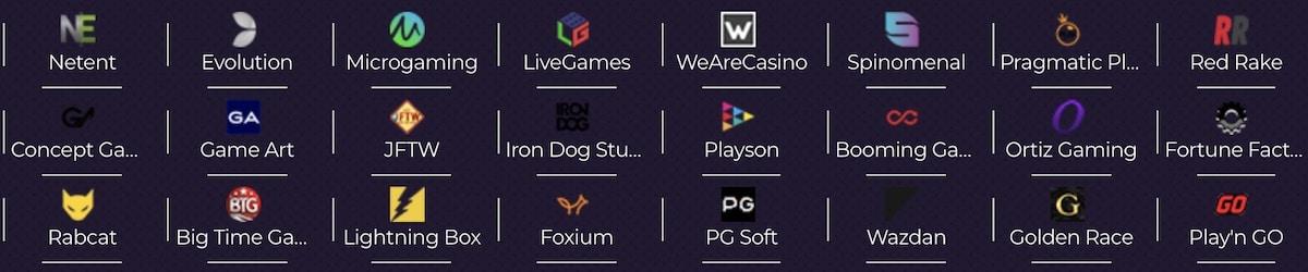 Spiele Anbieter Betzest Casino