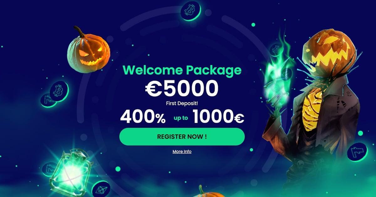 Casino BTC Welcome Bonus
