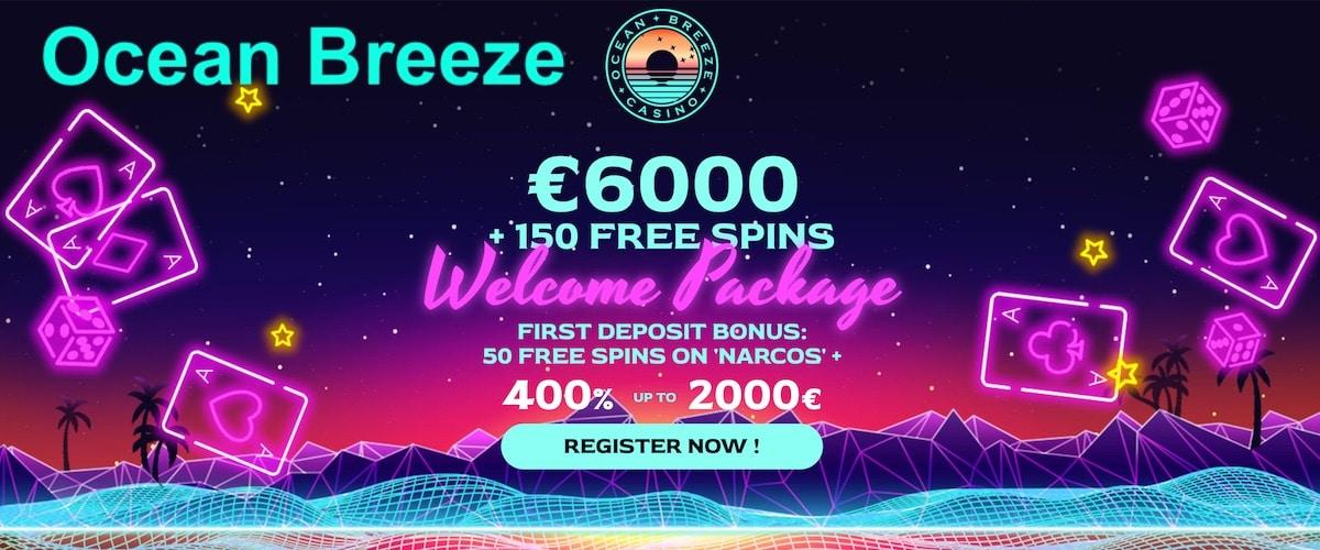 Ocean Breeze Casino Free Bonus