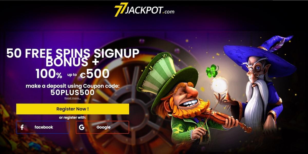 77 Jackpot No Deposit Free Spins